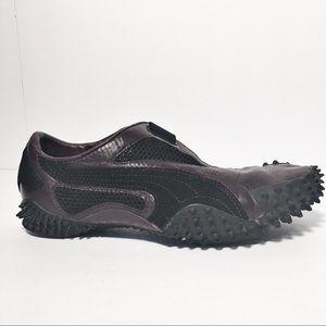 Puma Ur Mostro Purple Black Leather